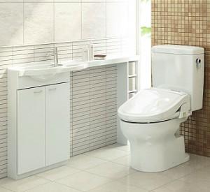 暖房付シャワートイレ