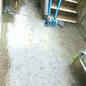 ハウスクリア岡山 2018年7月7日 床下浸水